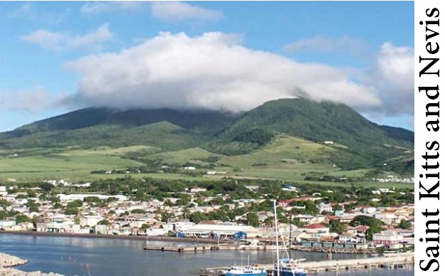 Small Country Saint Kitts and Nevis
