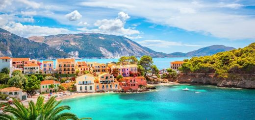Beer Luff Among Greek Islands